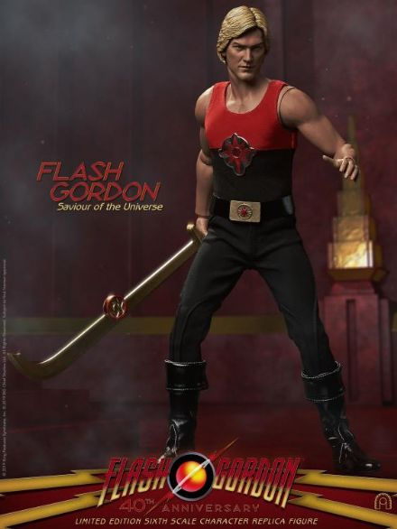 *Pre Order* Big Chief Studios Flash Gordon 40th Anniversary 1:6 Scale Limited Edition Figure